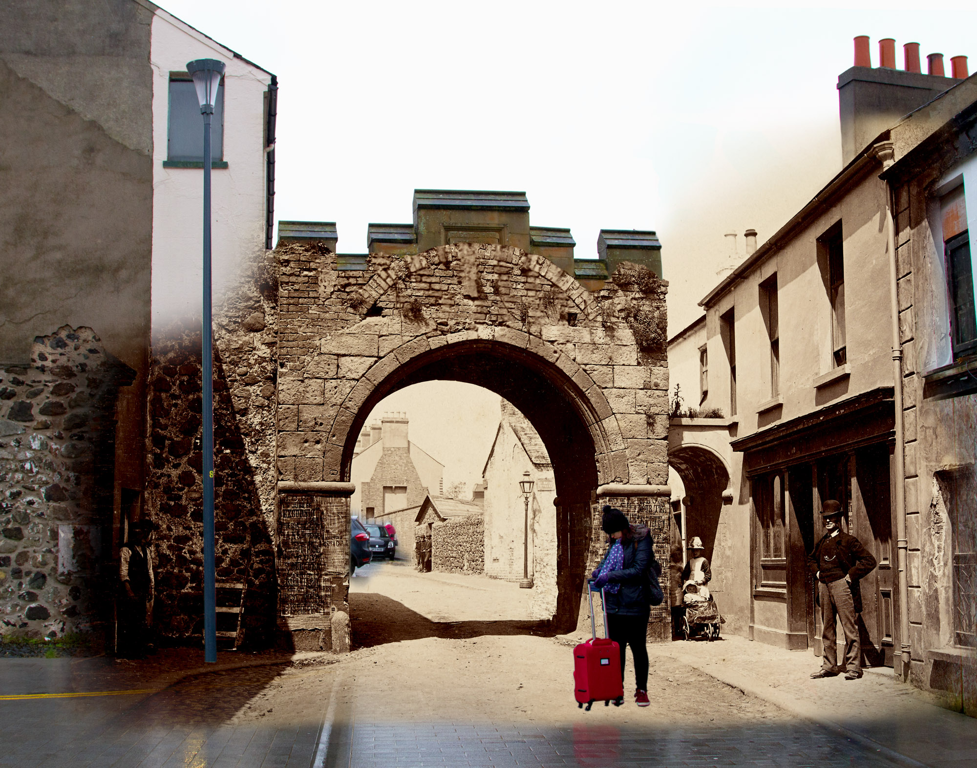 North Gate, Carrickfergus, County Antrim