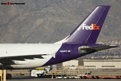 N808FD - 439 - FedEx - Airbus A310-323F - Albuquerque, New Mexico - 141229 - Steven Gray - IMG_1413
