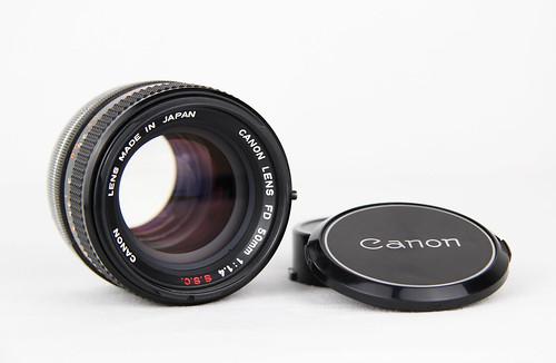 Canon FD 50mm 1:1.4
