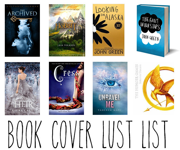 Book Cover Lust List