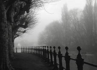 Foggy Abingdon morning