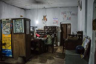 Sri Lanka. Ella. Oficina de correos. Post Office.