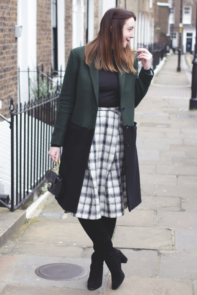 Skirts over Boots, Bumpkin Betty Fashion Blog