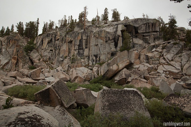 Granite Along the Trail