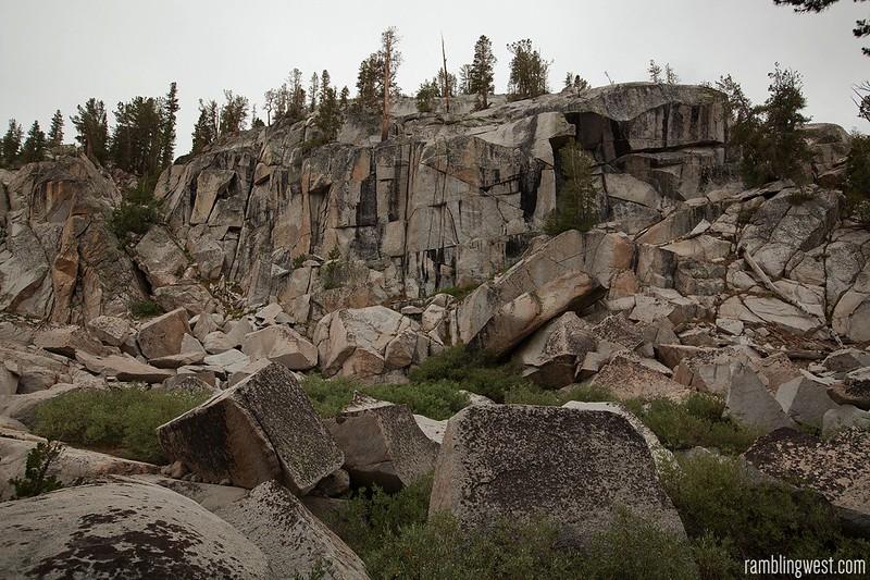 Granite Along the Trail