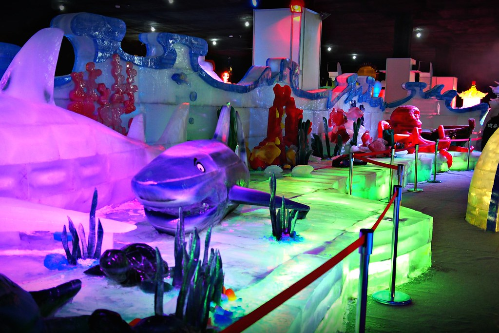 台中高鐵-2015正宗哈爾濱冰冰燈冰雕展-33