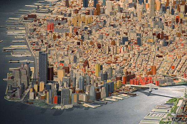 Maqueta de Nueva York