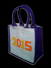 Personalized JUTE Tiffin Carrier Bag