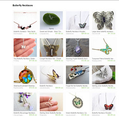 Etsy Butterfly Treasury
