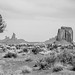 Monument Valley - B&W by Kvse