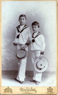 Boys in sailor suits