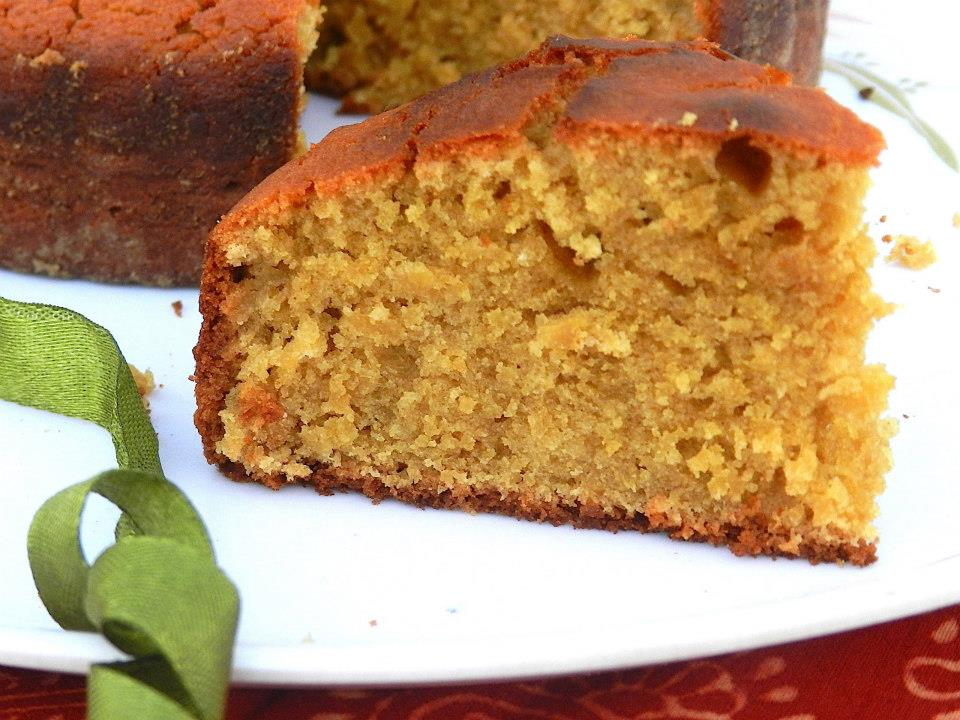 Whole Wheat Vanilla Sponge Cake