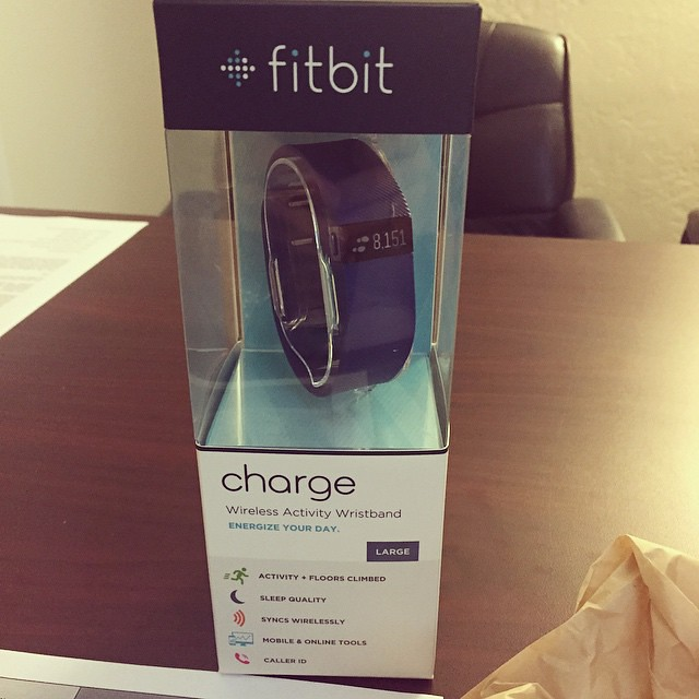 Yay! My coworker won a Fitbit, but since she already had one she gave it to me! Thanks Amy, you rock! by bartlewife