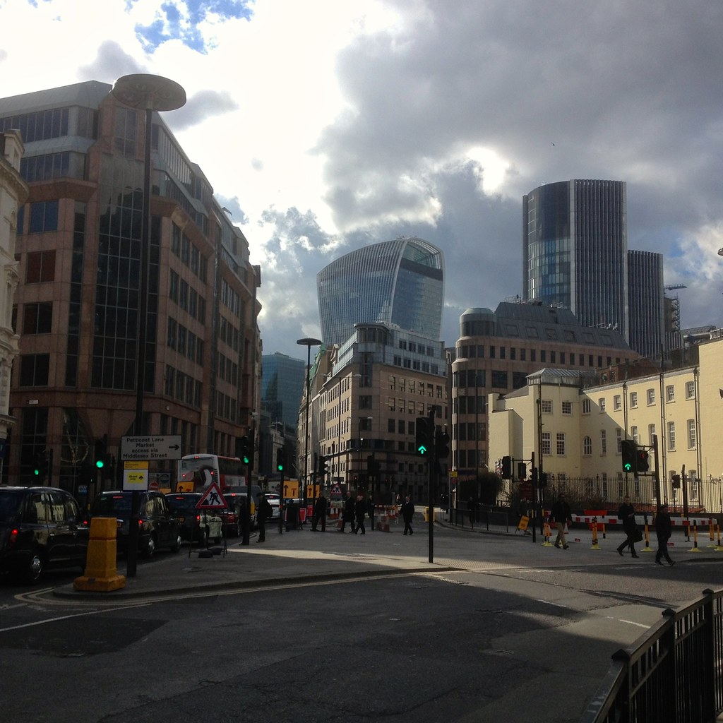 View down Aldgate