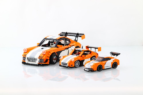 lego porsche 911 997 gt3 hybrid a lego creation by malte. Black Bedroom Furniture Sets. Home Design Ideas