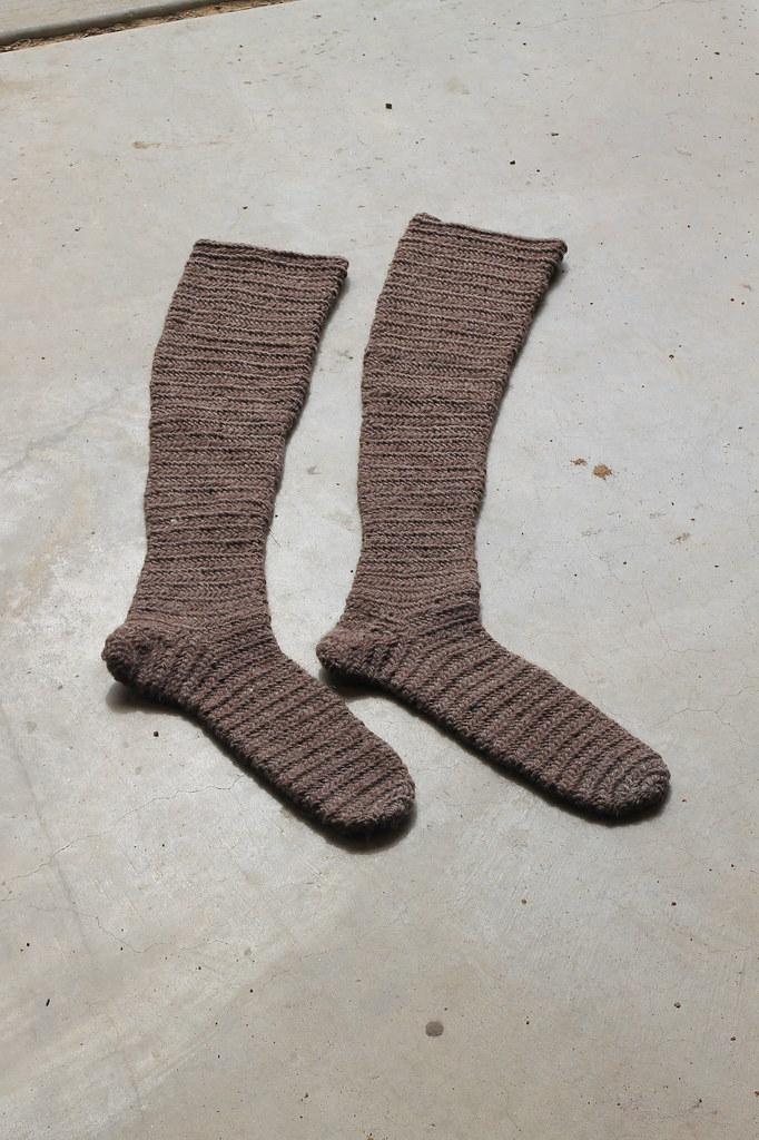 nalbinding - socks