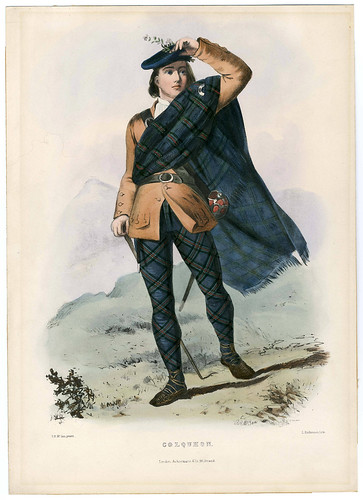 005-Clans_of_the_Scottish_Highlands_1847_Plate_006-The Metropolitan Museum of Art-Thomas J. Watson Library