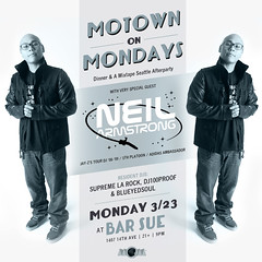 3/23 - DJ Neil Armstrong Joins the Motown Monday's Seattle Crew