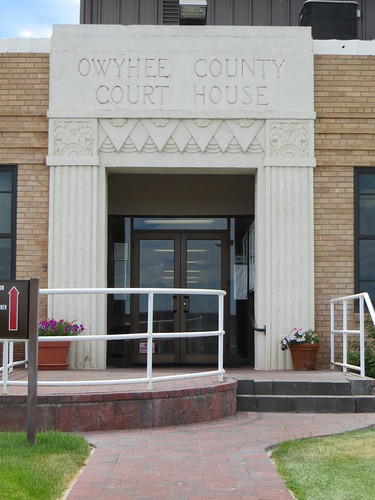 Courthouse entrance, Murphy