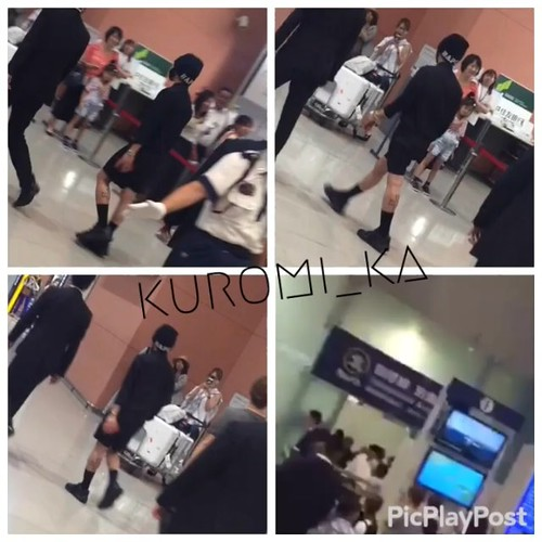 Big Bang - Kansai Airport - 21aug2015 - kuromi_ka - 02