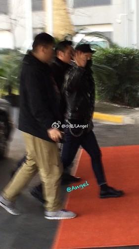 Tae Yang - Shanghai Airport - 31jan2015 - 小鬼儿Angel - 03