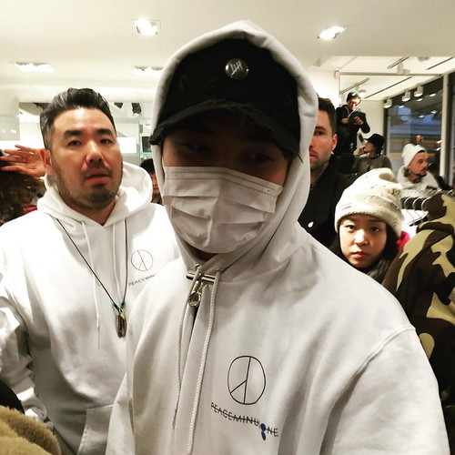 G-Dragon - Colette x Peaceminusone - 23jan2016 - wu_dididididi - 02