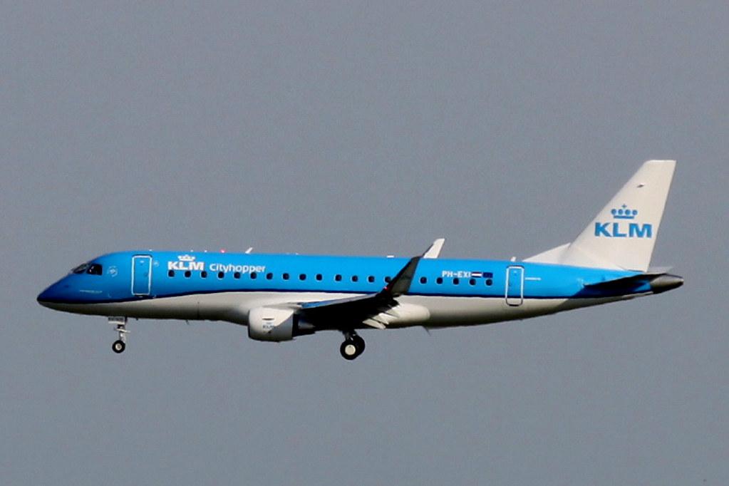 PH-EXI - E75S - KLM