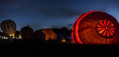Night Glow @Bristol International Balloon Fiesta 2016