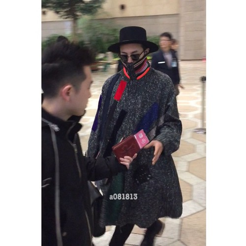 Big Bang - Gimpo Airport - 15jan2015 - G-Dragon - a081813 - 03