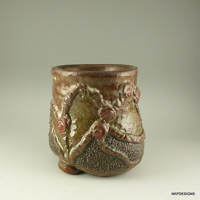 Rose Tangle Whiskey Cup