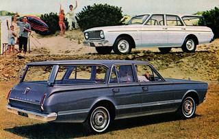 1966 Valiant Safari and Regal Safari (Australia)