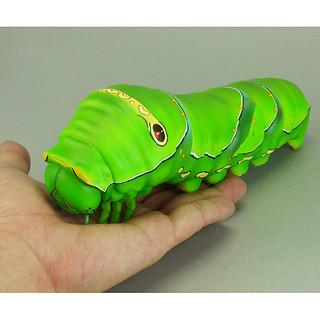 海洋堂 Sofubi Toy Box007 毛毛蟲(柑橘鳳蝶 五齡幼蟲) イモムシ(ナミアゲハ 5令幼虫)