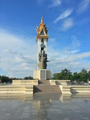 Cambodia Vietnam Monument