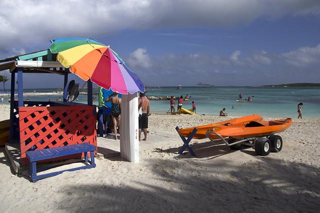 CocoCay Bahamas  Royal Caribbean Cruise line private island  Grandeur of the Seas ship