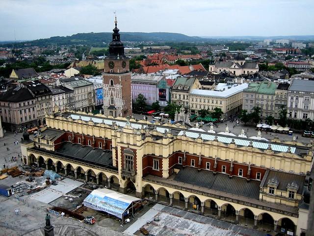 Las ciudades más bonitas de Europa. cracovia