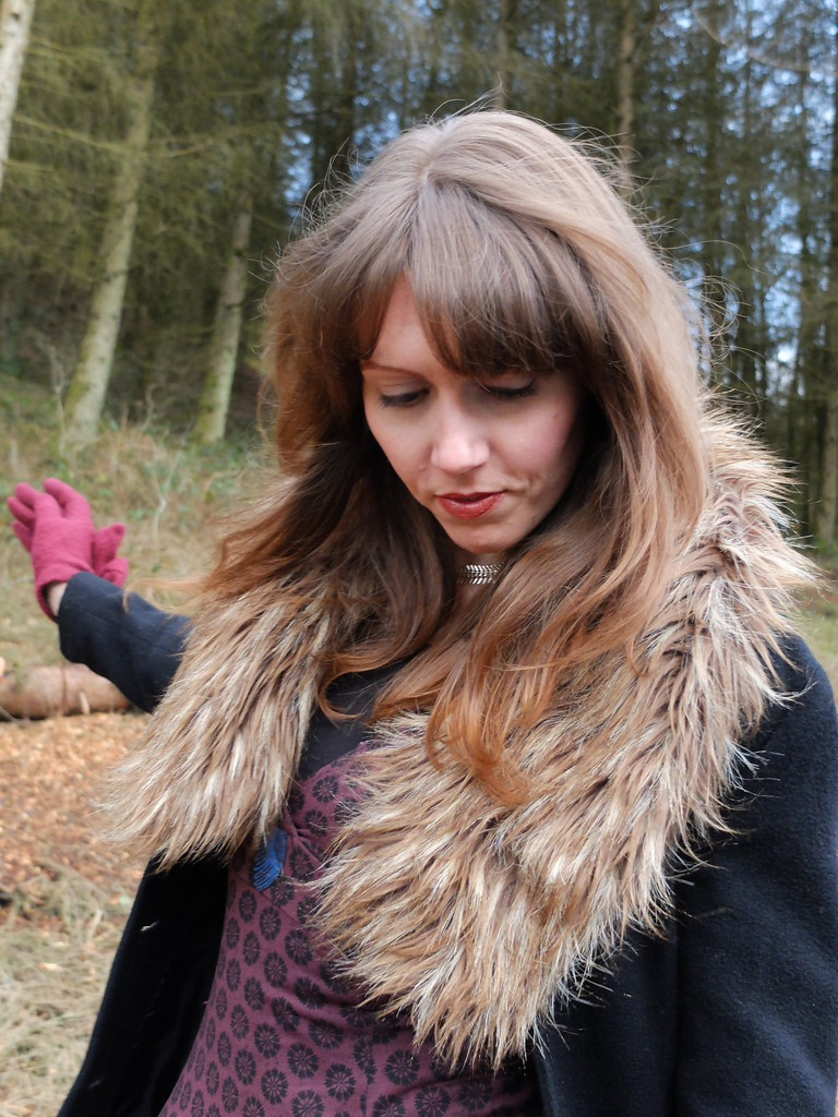 Faux Fur in the Forest