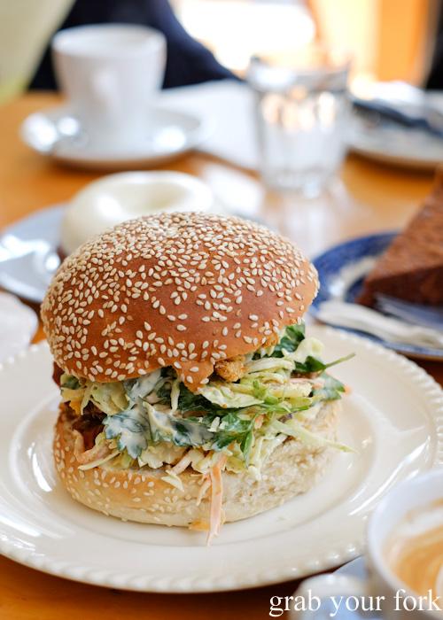 Pulled pork sandwich at Beatrix, North Melbourne
