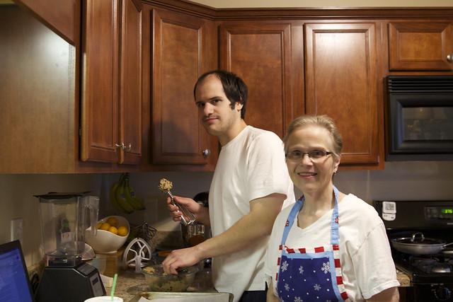 Carlos and Mom