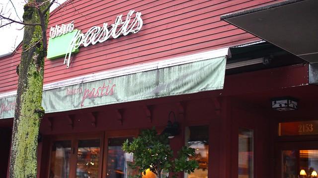 Bistro Pastis   West 4th Avenue @ Kitsilano, Vancouver