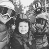 This balmy winter isn't making for much of a ski season but these guys couldn't care less. Watching them find control, overcome fear, go all in, and smile, makes me feel like I've received everything I could ever want. #adventureisafamilyvalue