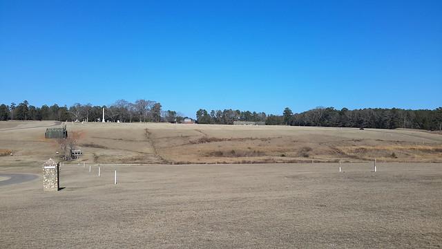 Andersonville Prison Site - prison pen to over 45,000 Union POWs during the Civil War