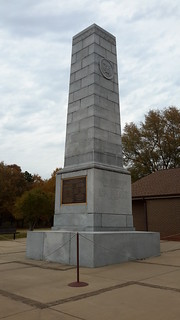 Monument at Cowpens to honor all who fought here