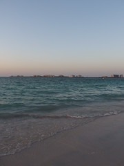 Sunset @  Beach @ Jumeirah Beach Residence @ Dubai