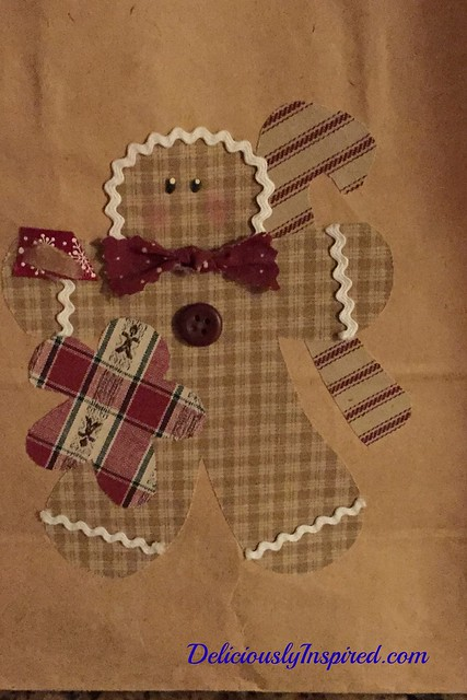 Christmas - Gingerbread Bag