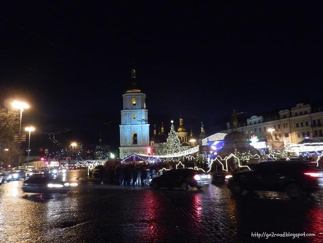 Рождественская ярмарка, Киев