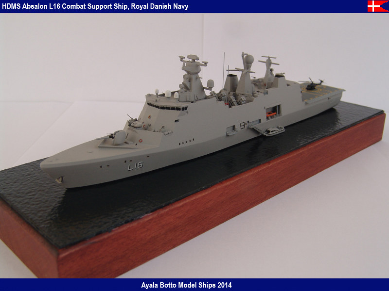 HDMS Absalon L-16  Navire de Soutien Multifonctions - NNT 1/700 16024522283_161f5a9a18_c