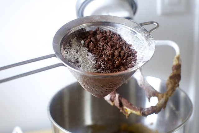 sift the dry ingredients if your cocoa is lumpy