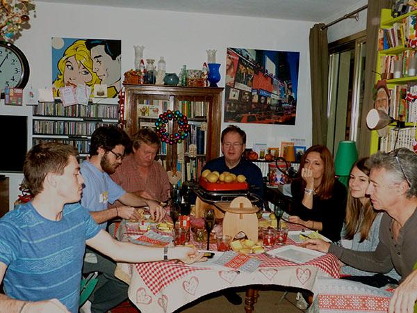 raclette du 31 decembre