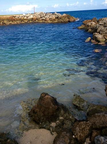 Morning sun St. Mary, Jamaica private beach