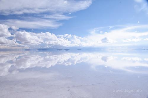 【写真】世界一周 : ウユニ塩湖(夕方-3)